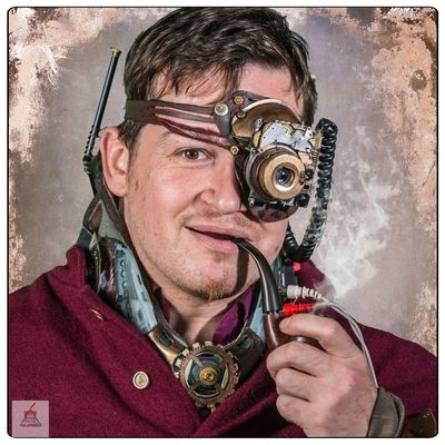 Steampunk Photography Fantasy Photography Portrait Photography Steampunk Fantasy Timetraveler Goggles