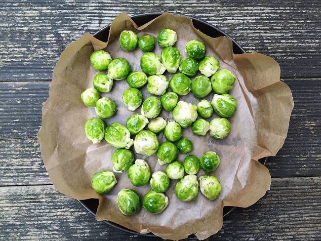 Sprouts Sprout Brussel Sprouts Brussels Sprouts Vegetables Autumn Food Foodphotography Cooking Baking Cook  Homemade Vegetarian Food Cabbage Organic Cooking At Home Dinner Meal Baking Paper