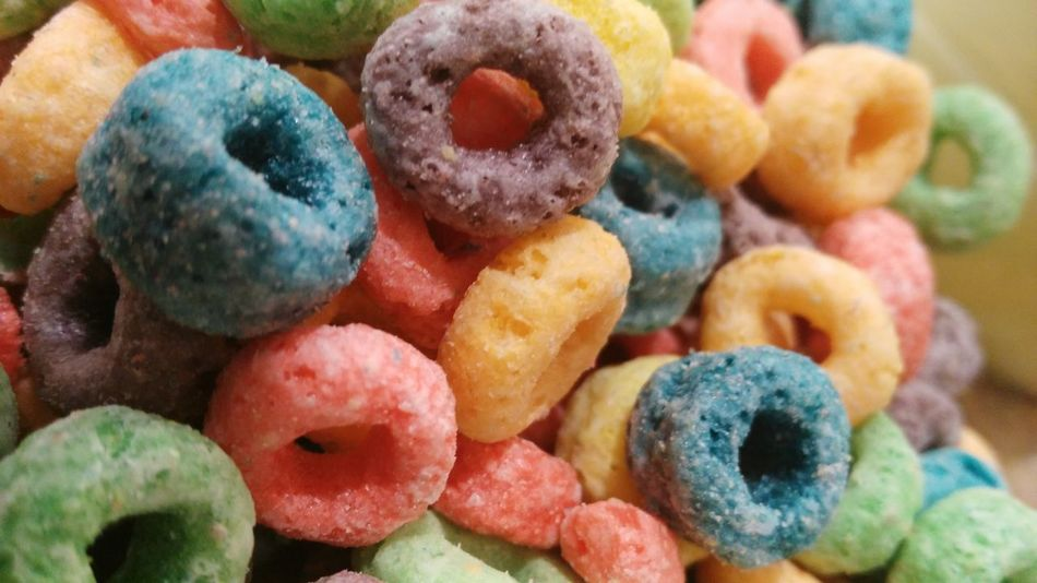Colour Of Life Frootloops Favoritecereal Yummy Foodphotography
