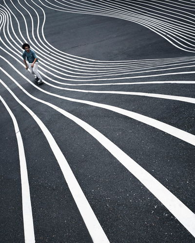 EyeEm Best Shots EyeEm Gallery Eye4photography  The Week on EyeEm Architectural Column Architecture Shadows & Lights One Person One Man Only Shadow Futuristic EyeEm Selects Sports Track Full Length Running Track Track Event Finish Line  Sports Race Empty Road Zebra Crossing Starting Line