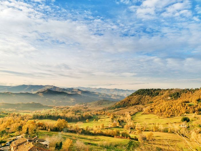 Panorama domenicale #2 Lightroom Mobile Huaweiphotography Mate20pro Italy Tree Rural Scene Agriculture Hill Sky Landscape Cloud - Sky