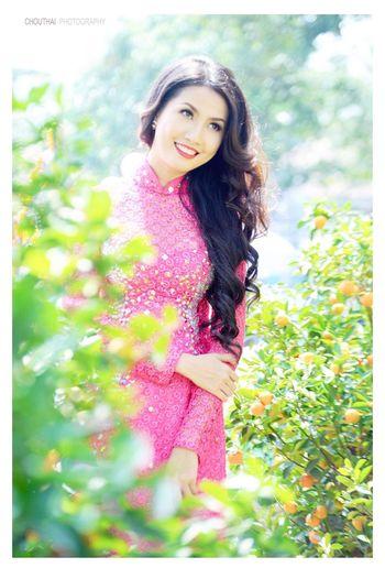 spring Garden - Phan Thi Mo - Chou Thai Photography Vietnamesegirl Ao Dai Model Shoot Spring Top5missvietnam Phanthimo Chouthaiphotography