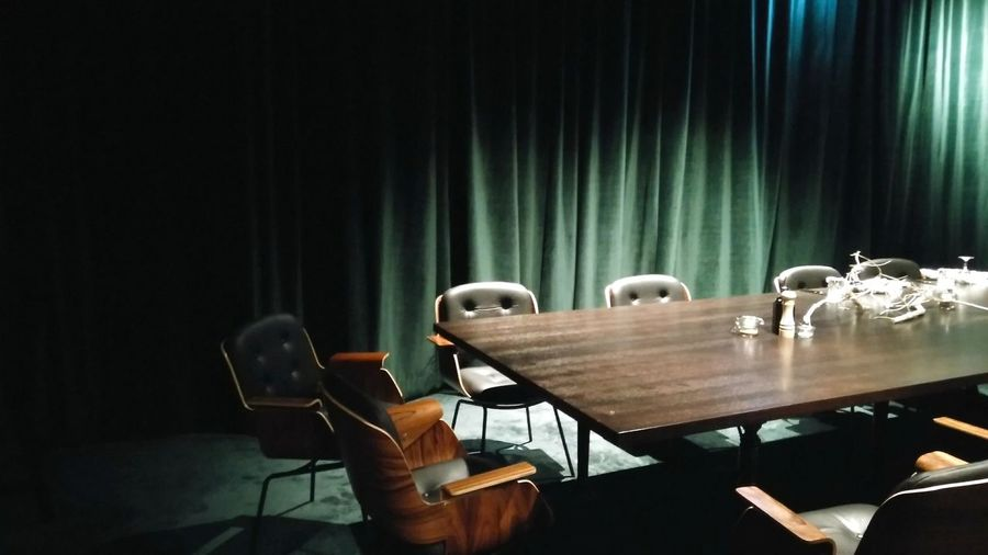 The Backroom. · Hamburg Germany 040 Hh Restaurant Bar Lounge Back-room Meeting Room Lounge Chairs Cozy Comfortable Mysterious Conspiracy Lighting Light And Shadow Green