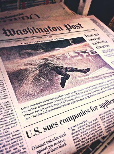 On The Road Newspaper Headlines