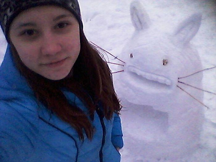 Снеговичек))