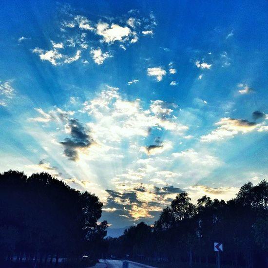 Bulutlar Manzara Akdeniz Universitesi Gun Batımı