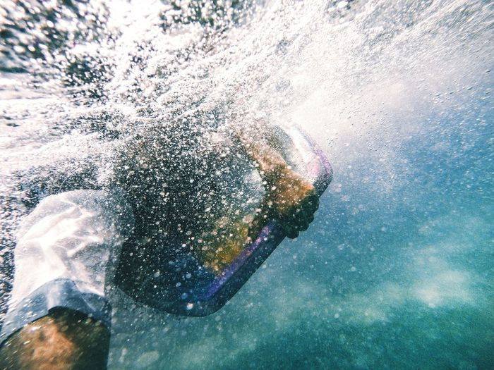 Headless // Water Leisure Activity Low Angle View Underwater Outdoors EyeEmNewHere Uniqueness The City Light