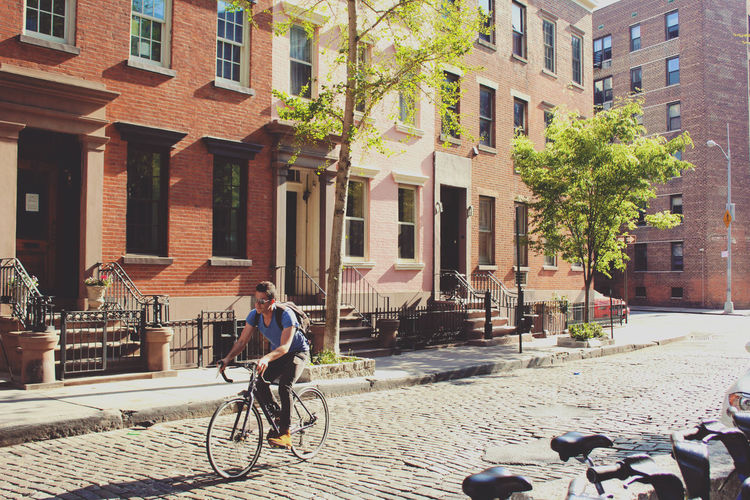 Architecture Brooklyn Brownstones Built Structure City City Streets  Day New York City Outdoors Street Photography Streets The Street Photographer - 2016 EyeEm Awards