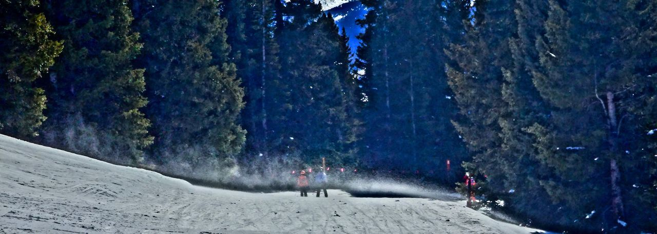 blowing snow….. Beauty In Nature Blowing In The Wind... Blowing Snow Cold Temperature Day Leisure Activity Mountain Nature Outdoors Ski Slope Sky Snow Tree Vail  Vail,co Vail,colorado Wind Winter