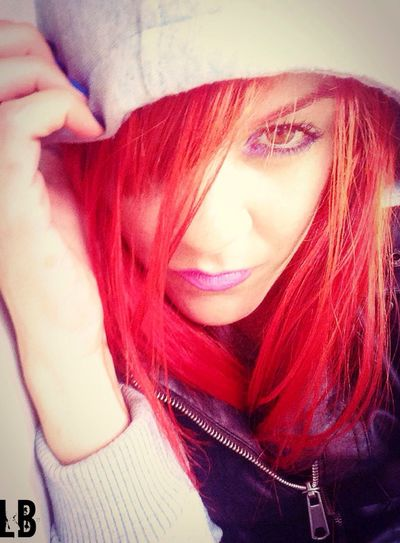Rocking A Hoodie Red Hair Self Portrait Tadaa Community