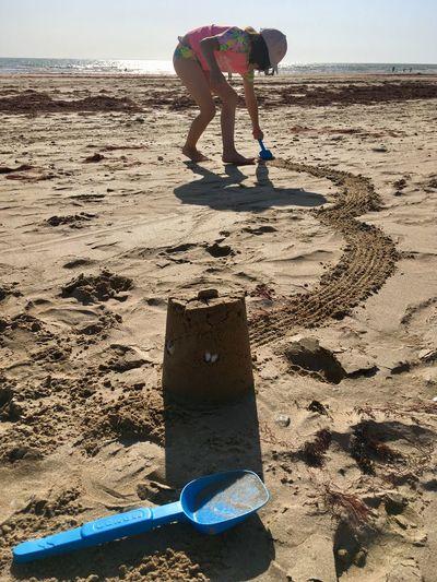 Land Sand Beach