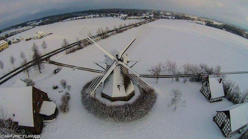 A Bird's Eye View Nature Windmühle Windmühlen