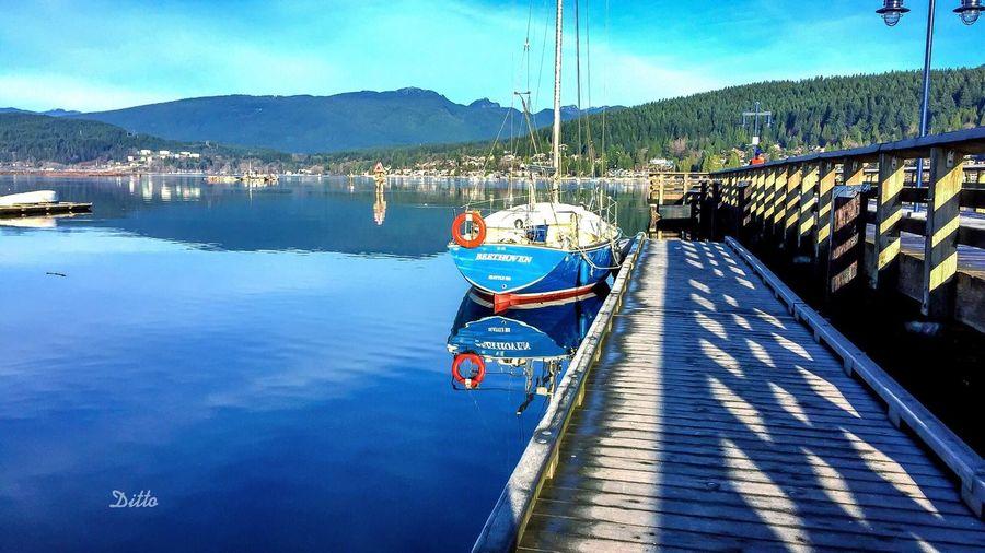 Beautiful morning,Burrard inlet