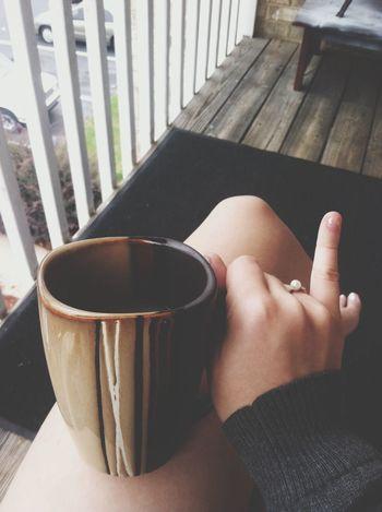 Morning vanilla mint tea~<3 BRING ON FALL ^•^ ? Autum ♥ Tea Goodmorning