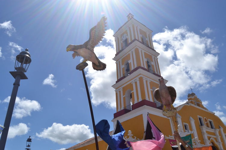 Sun go higher Colonial Architecture Gavilan Clock Face Historic