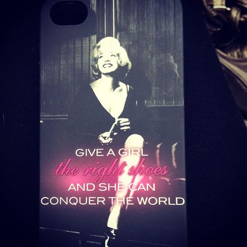 Newcase  IPhone4s Love Marilynmonroe quote ❤