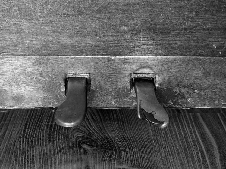 Old piano 1905 details Lines Music Piano Black And White Blackandwhite Close-up Day Detail Indoors  Monochrome Musical Instrument No People Old Piano Pedal Piano Pedals Steel Vintage Wood - Material