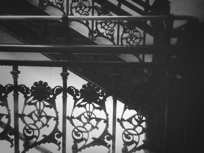 Blackandwhite Staircase Noir Series