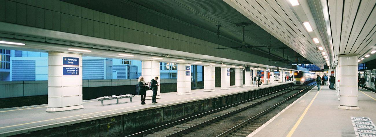 Fenchurch Street Station, London / Hasselblad XPan, Kodak Portra 400 Film