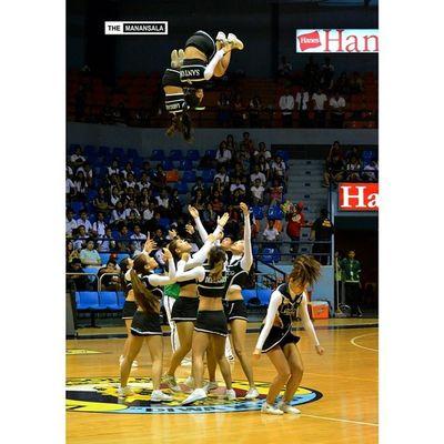 Air bender . . . Halftime Csbpepsquad CSBvsEAC NCAA ncaa90 ncaaseason90 hoop basketball themanansala airbender