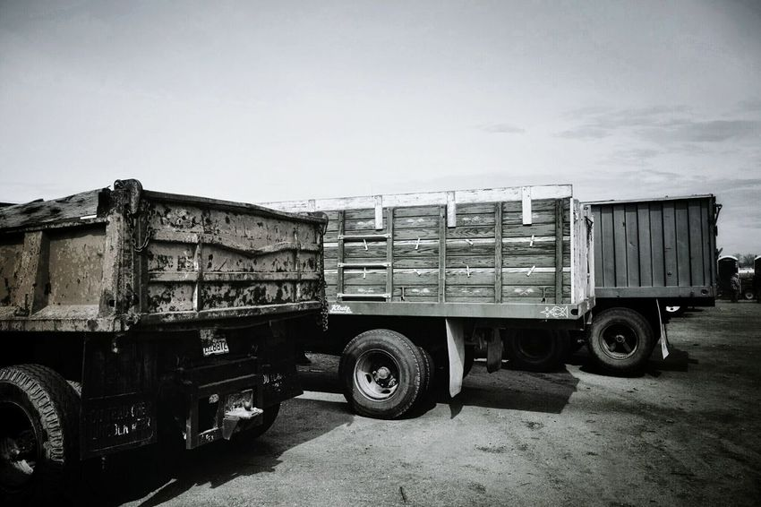 """My son could watch dump truck videos for hours: Excavator's and Dump-truck's at work """"Raw Sound"""" 35mins: https://youtu.be/0w82r_DHAYk Dump Truck Monochrome B&w Photography Truckerslife The Rule Of Thirds Photography Auction Sale Rural America Automotive Photography EyeEm Best Shots"""