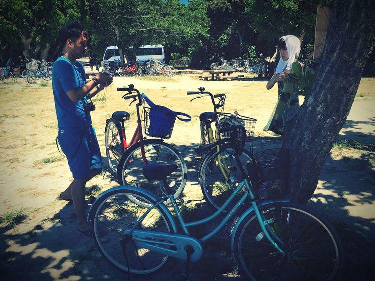 Who Dahea Cycling Taketomijima Taketomi Island Taketomi Island From Okinwa Taketomi Okinawa OKINAWA, JAPAN Seaside Cycle