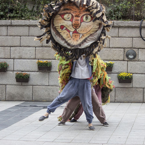 서울거리예술축제 인왕산호랑이바위