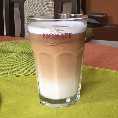 Mokate Ice Latte Kawa Mrozona Morning Rano śniadanie Breakfast Friday Weekend Free Time Sweet Home Sunny Day Weather Polishgirl Polishboy  Likeforlike L4l F4F