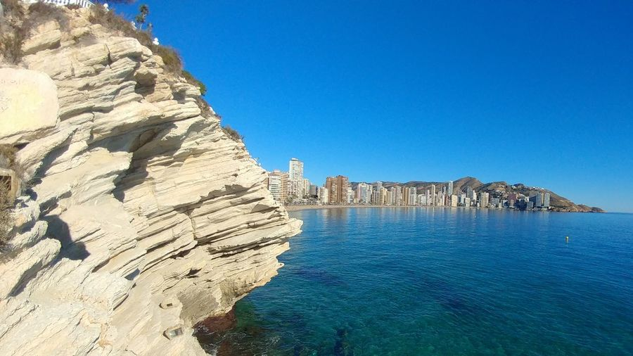 Benidorm Benidorm SPAIN Travel Destinations History Blue Architecture Rock - Object Old Ruin Castle