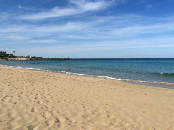 Sky Water Sea Water Horizon Over Water Blue Sky Beach Gold Beach Sand blue waters Summer