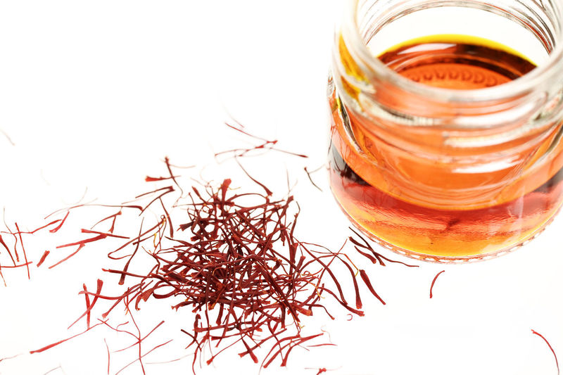 Food And Drink Plant Anti Depression Close-up Day Food Food And Drink Food Flavoring Freshness Glass Jar Healthy Eating Herbal Medicine Indoors  Jar No People Saffron Science Spice Studio Shot Super Food White Background