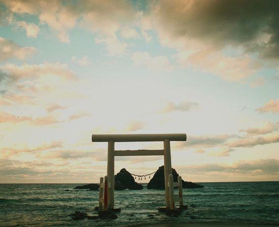 Sea Cloud - Sky Horizon Over Water Sky Beach No People Outdoors Day Water Nature Film Photography Film Japan Photography Fukuoka,Japan Itosima 福岡 二見ヶ浦 Mamiya RB67
