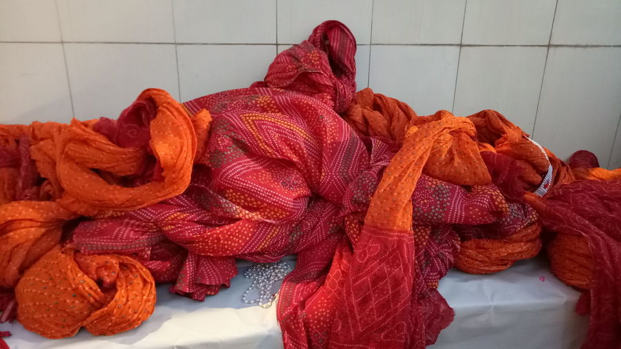 Red Business Finance And Industry No People Indoors  Wool Industry Factory Colour Full Cloth