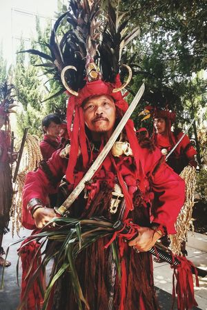 War Dancer Minahasa Traditional Costume Untold Stories The Changing City RePicture Masculinity