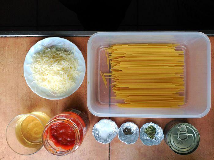 Espaguetis con