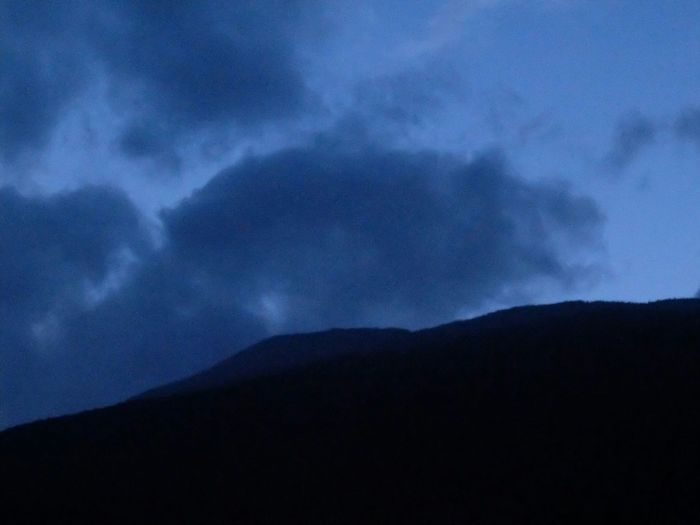 The Purist (no Edit, No Filter) Mountain View Night Valtellina Sondrio Summer Fujifilm XQ2