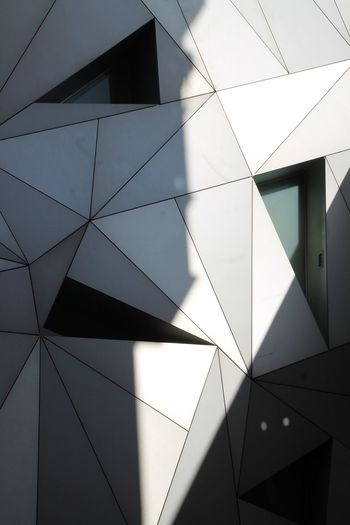 Museo ABC No People Low Angle View Indoors  Day EyeEm Best Shots Taking Photos Enjoying Life Hanging Out Check This Out Architecture Architecture_collection Architectural Detail Cubism Geometry Geometric Fachada Architectural Feature Design Designs Outdoors The City Light Minimalist Architecture