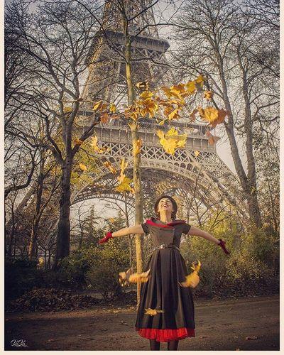 Toureiffel Feuilles Autumn Gobangphotographybymikeybibi Retro Jesuisamour Jesuislibre JesuisParis