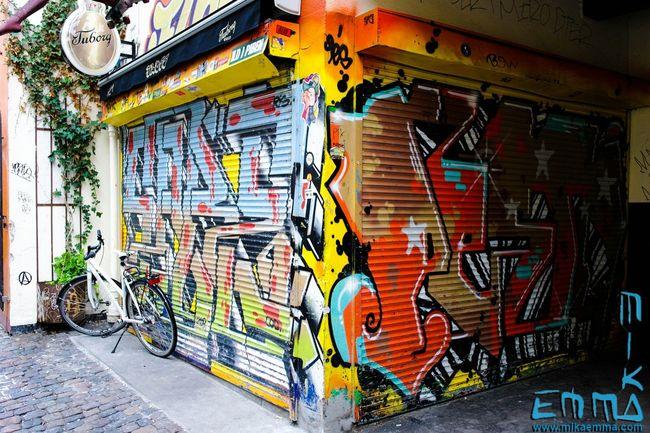Taking Photos Colors Kopenhavn Kopenhagen Tuborg Graffiti