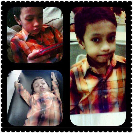 Seryoso, pasaway & pa-sweet! I ♥ my 'lil bro! ZZ Sibling Bunso Family