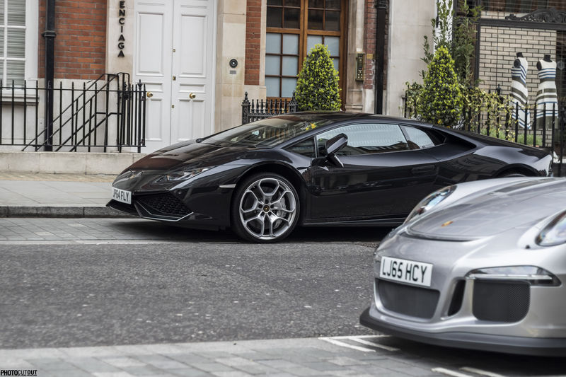 Cars Huracan  Lamborghini Lamborghini Huracan London Mayfair Sportscars Supercars V10