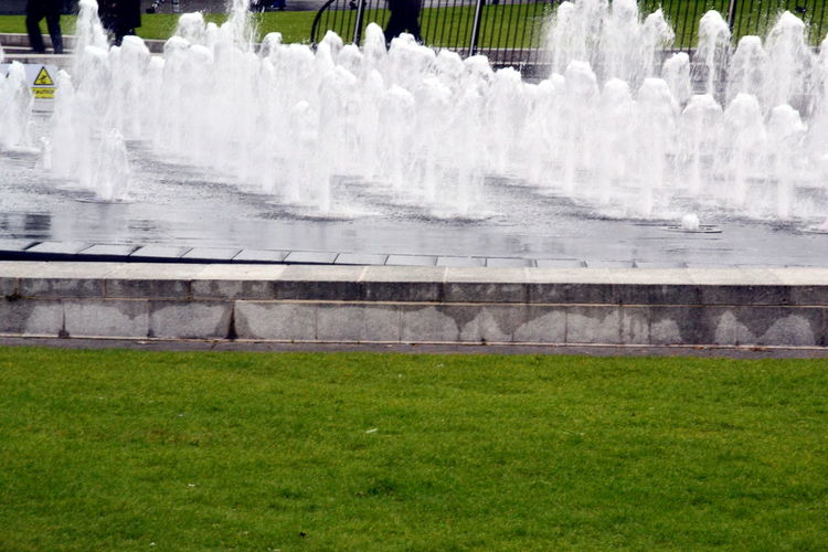Architecture Beauty In Nature Day Fountain Fountain Fun Fountain Show Fountain_collection Fountains Grass Green Color Lawn Manchester UK Motion Nature No People Outdoors Running Water Water Water Droplets Water Shadows Water Shimmering WATER SHORTAGE Water Shot Water Show