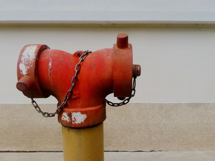 Close-up of fire hydrant