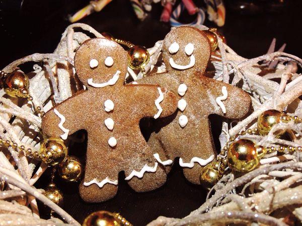 Handmade Gingerbread Cookie Gingerbread Men