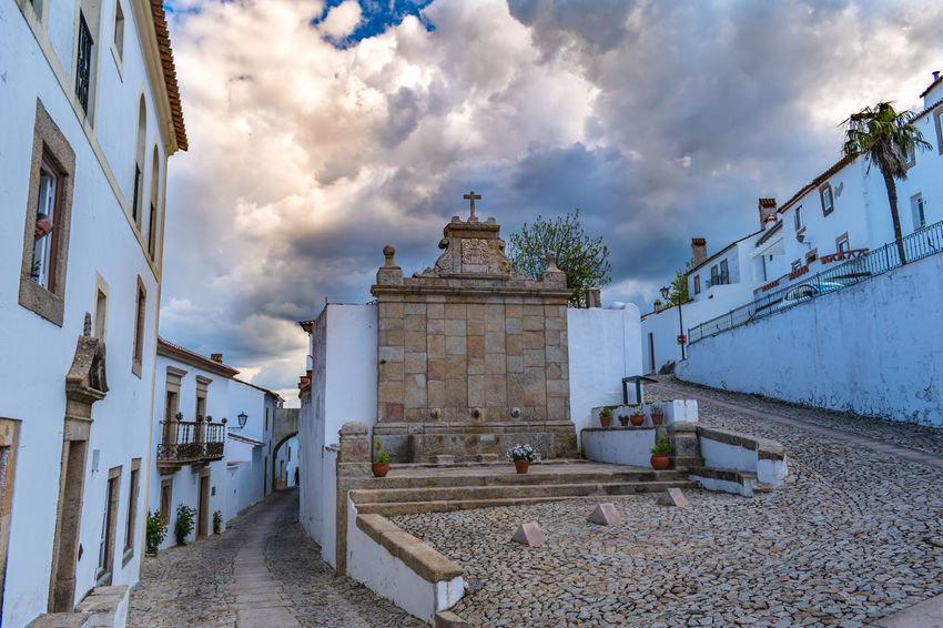 Castelo de Marvão Cloud Cloudscape Cloudy Fountain Cloud - Sky Clouds And Sky Street Street Photography Streetphotography