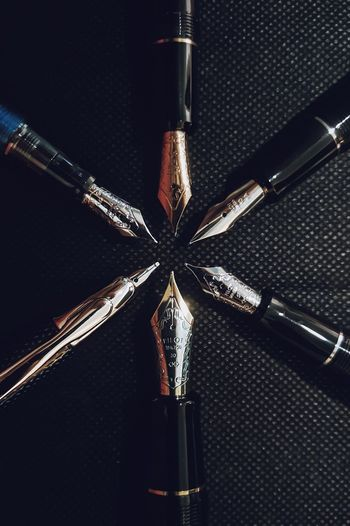 Art Drawing Literature Mightierthanthesword Nibs Pilot Passion Fountain Pen Pen Close-up Still Life Pattern Detail Metal Shiny