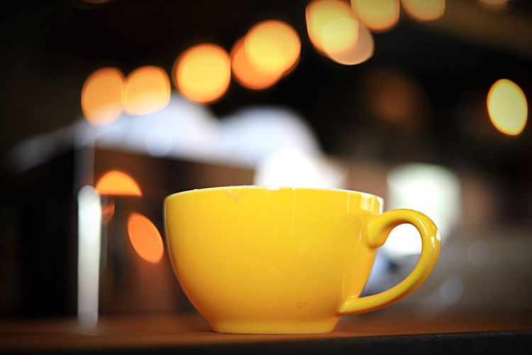 Cup Mug Drink Refreshment Food And Drink Coffee Cup HUAWEI Photo Award: After Dark Table Focus On Foreground Still Life Tea - Hot Drink Tea Tea Cup Indoors  Hot Drink Close-up Coffee Yellow Coffee - Drink