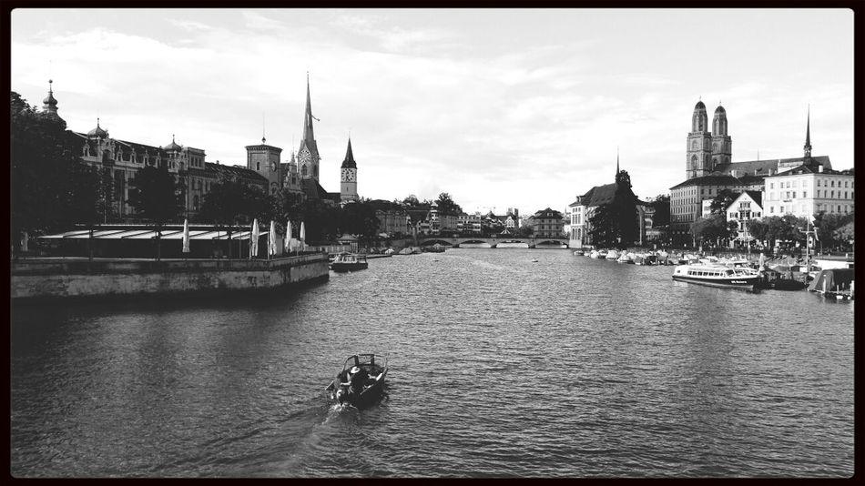 Zurich, Switzerland Traveling Monochrome Blackandwhite