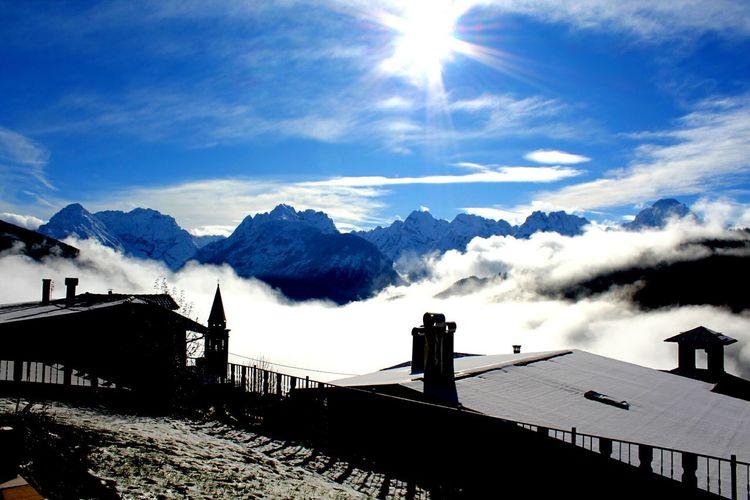 Panorami unici Svegliarsicosì Fuoricasa Casamazzagno Mountain Snow Sky