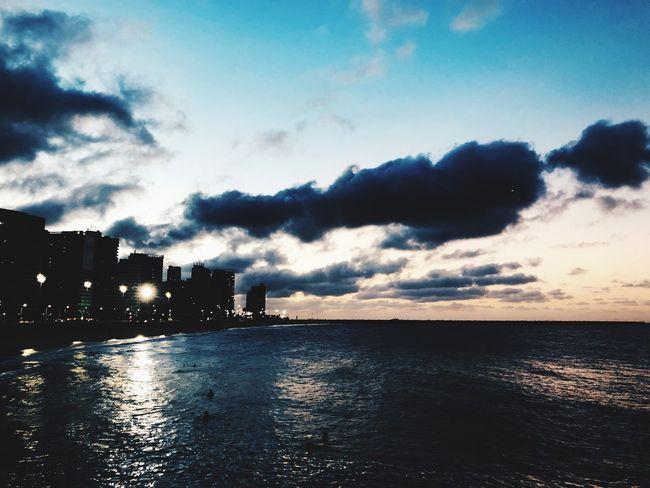 Sky Water Cloud - Sky Sea Architecture Built Structure Nature